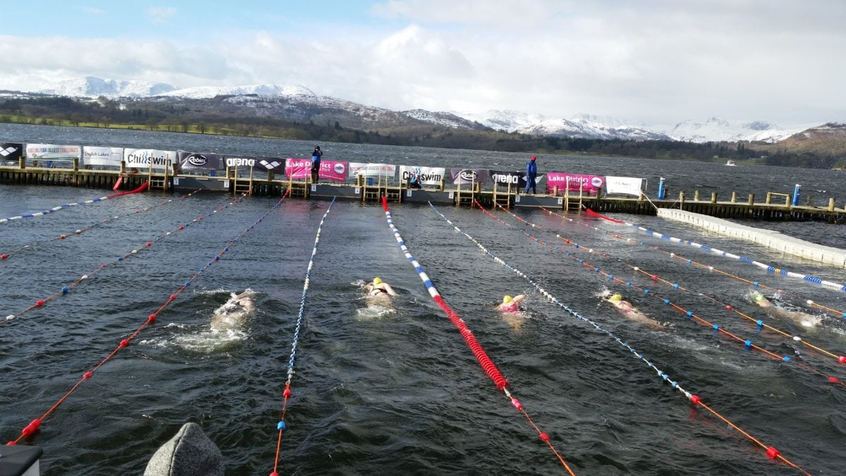 Triumph at the Big Chill Swim 2015
