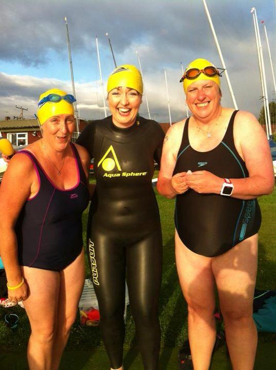Radio Sheffield's Kat Harbourne joins YOS for a swim.